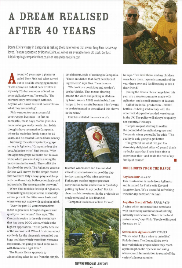 The Wine Merchant feature