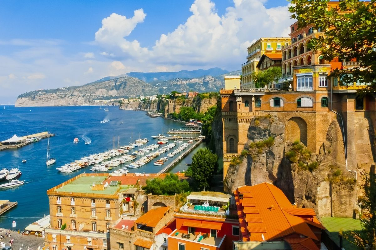 A Grand Tour of the Campania Region and it's wines – Sorrento